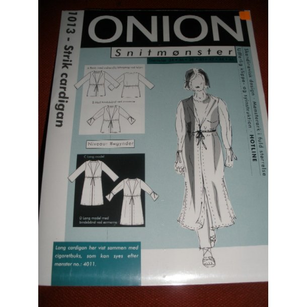 1013  Strik cardigan  onion
